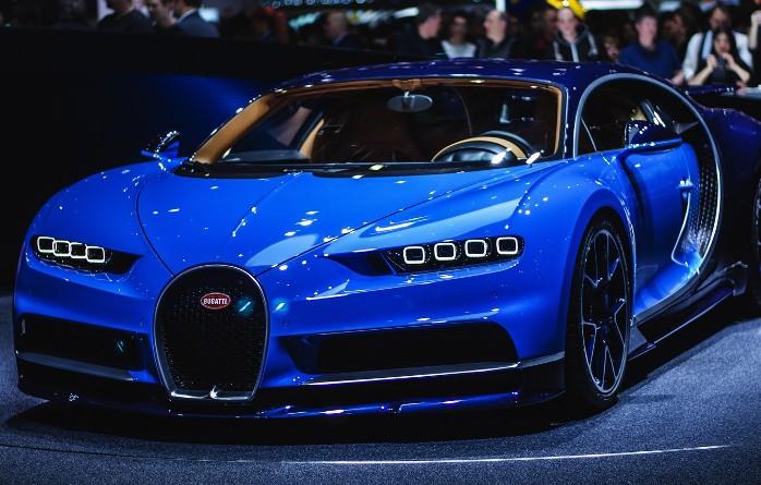 Bugatti Chiron Presentation