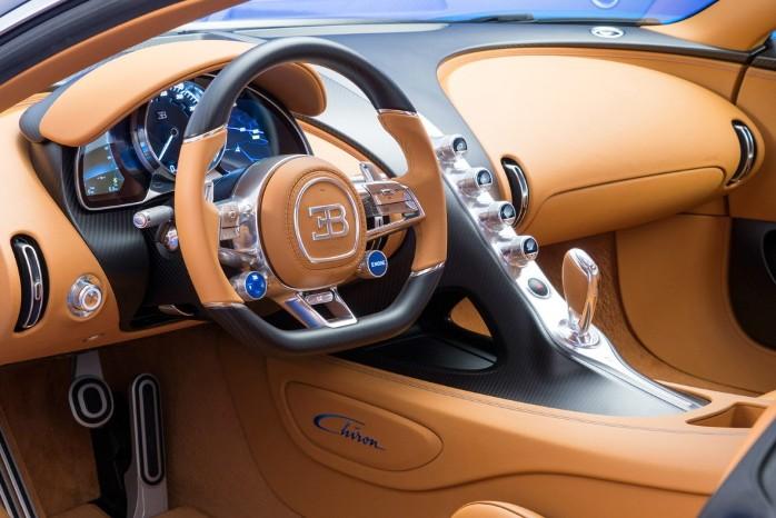 Bugatti Chiron salon