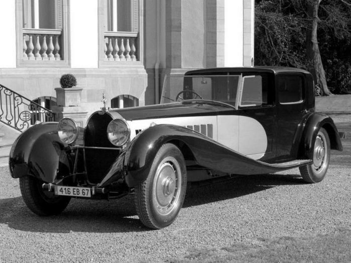 Bugatti Type 41 Royale Coupe de Ville Binder