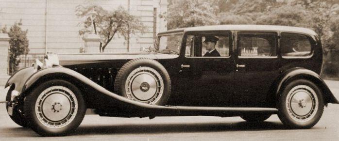 Bugatti Type 41 Royale Limousine Park-Ward