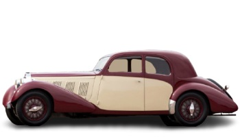 Type 57 Pillarless Sports Coupe by Graber