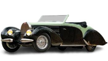 Type 57C Gangloff Aravis Cabriolet