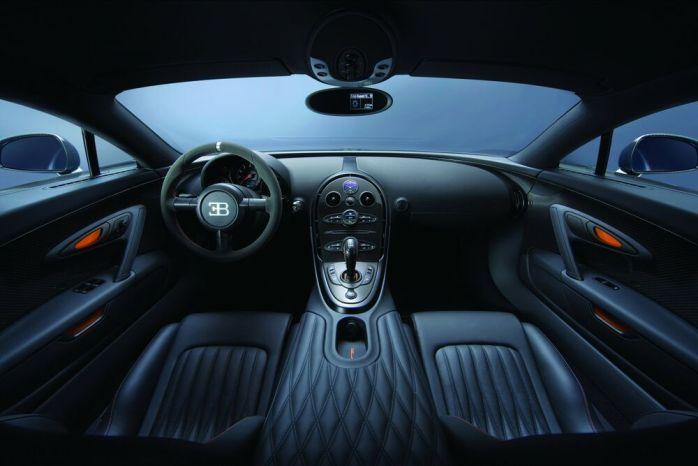 Bugatti Veyron SS salon