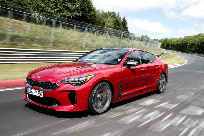 Kia Stinger speed