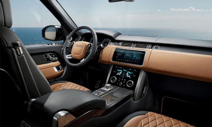 Range Rover Autobiography Салон
