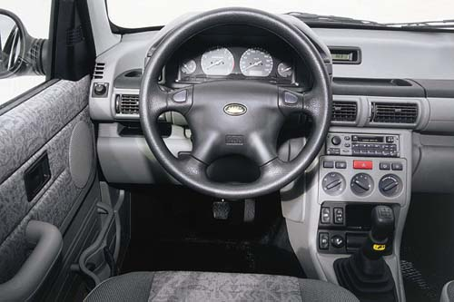 Freelander 2 salon