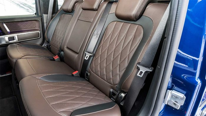Mercedes-Benz G350d interior