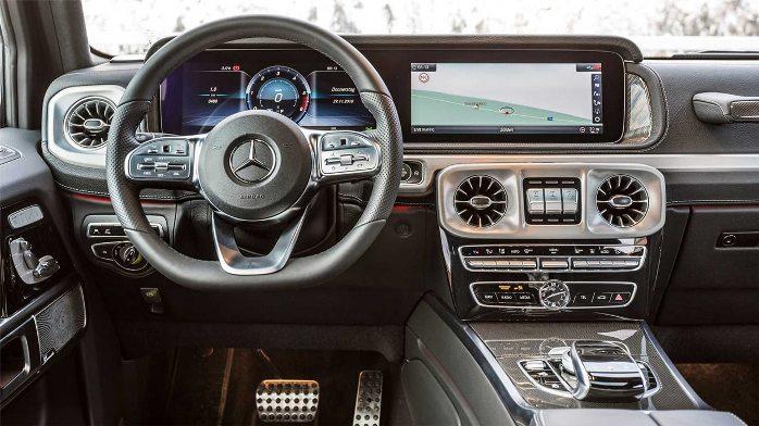 Mercedes-Benz G350d salon