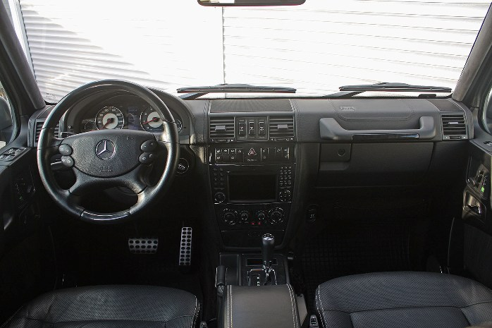 mercedes-benz g55 salon