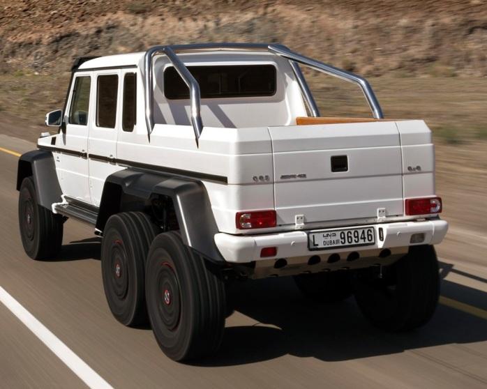 mercedes-benz amg 6x6 pickup