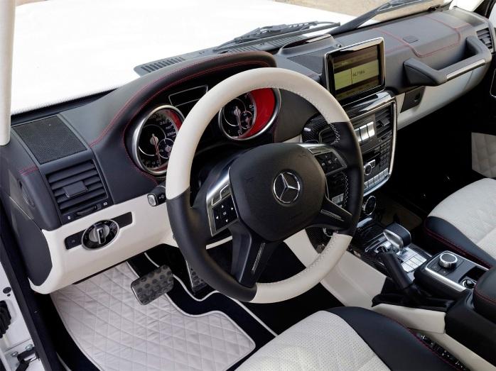 Mercedes-Benz G63 6x6 salon