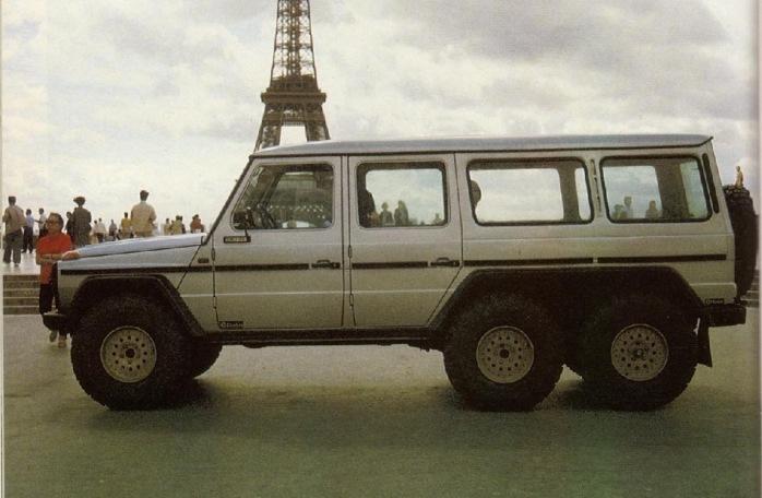 Mercedes-Benz G63 AMG 6x6 80-х годов