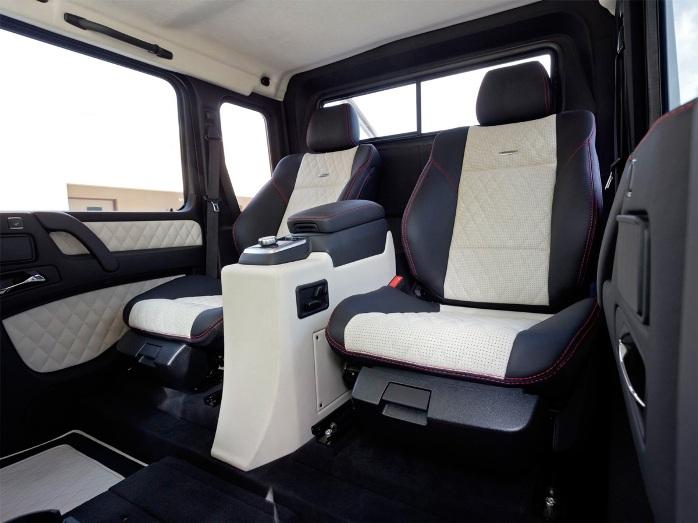 Mercedes-Benz G63 AMG 6x6 salon