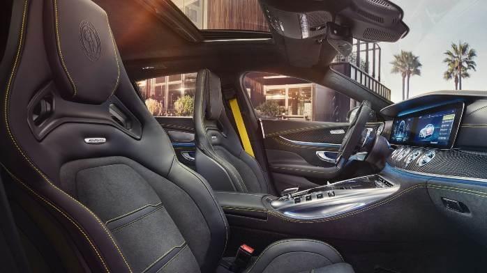 Mercedes-AMG GT 4-Door Coupe Interior