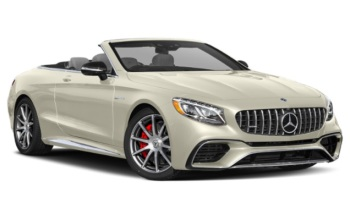 Mercedes S-class AMG Cabriolet