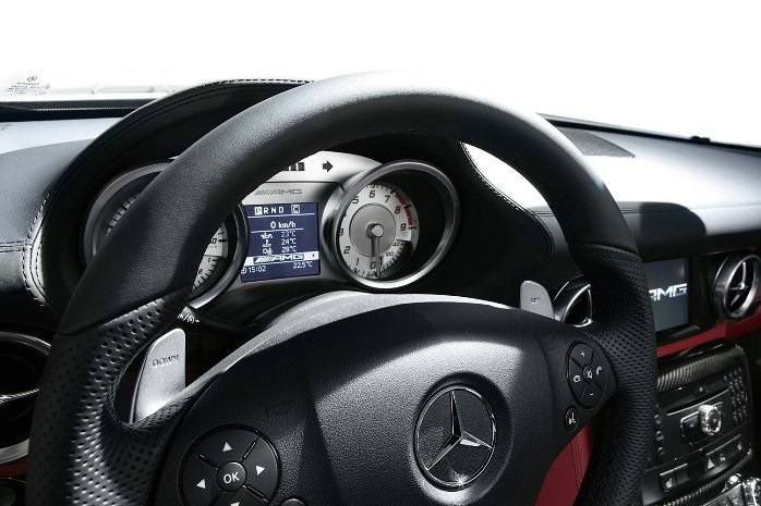mercedes-benz sls salon