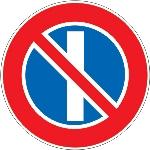 3.29 Стоянка запрещена по нечетным числам месяца