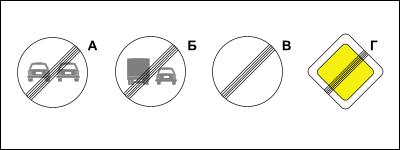 Тест 1 ПДД Знаки онлайн
