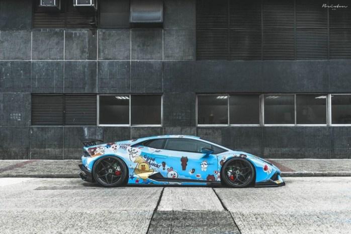 Lamborghini Huracan ReinART Design